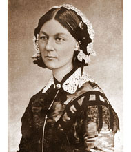 Florence Nightingale - Florence Nightingale from Carte de Visite